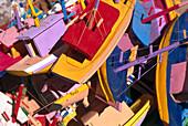 Toy boats, Paraty, Costa Verde Brazil