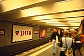 Alexanderplatz U-Bahn, Berlin Germany