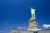 The Statue of Liberty, Liberty Island, New York City, New York, USA