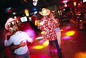 Texas country disco, San Antonio, Texas USA
