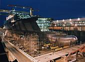 Queen Mary 2, Shipyard in Saint-Nazaire