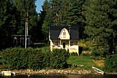 House in Savonlinna, Viittaansalmi, Karelia, Finland