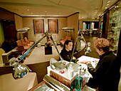 Manicure at Spa Club, Queen Mary 2