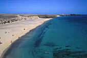 Playa Mujeres, Papageienstraende, Lanzarote Kanarische Inseln, Spanien