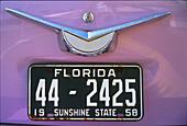 Cadillac, Ocean Drive, Miami Beach, Florida , USA, Amerika