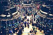 New York Stock Exchange, Interior, Wall Street, Manhattan NYC, USA