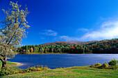 Wrightsville Dam near Montpellier, Vermont, USA