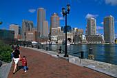 Pedestrian, Financial Center, Boston, Massachusetts USA