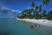 Strand, Pigeon Point, Tobago, Karibik Amerika