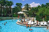 Pool at the Mandalay Bay, Mandalay Bay Hotel and Casino, Las Vegas, Nevada, USA