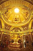 Lobby of The Venetian, Lobby of The Venetian Hotel and Casino, Las Vegas, Nevada, USA