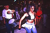 Latino Party, Ocean Drive, Miami Beach, Florida USA