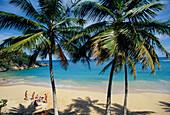 Strand bei Cabrera, Nordkueste, Dominikanische Republik Karibik