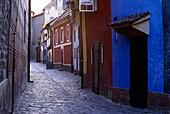 Golden Lane, Hradschin, Praha, Czech Republic