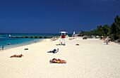 Doctors Cave Beach, Montego Bay Jamaika, Karibik