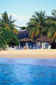 Privatstrand im Jamaica Inn, Ochos Rios Jamaika, Karibik