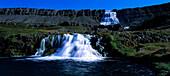 Wasserfall, Fjallfoss Island