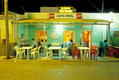 Cafe in Santa Maria, Santa Maria, Sal, Cape Verde Islands, Africa
