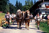 Freilichtmuseum, Glentleiten, Oberbayern, Grossweil Germany