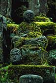 Gräber, Zen Kloster Eiheiji, fukui, Honshu, Japan