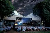 Sun Pictures, Open Air Cinema, since 1916, Broome, Kimberley, Western Australia, Australia