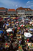 Weekend Market, St. George´s, Grenada, WI Caribbean
