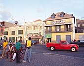 Warehouses, Avendida Amilcar Cabral, Porto Grande, Mindelo-Island of Sao Vicente Cape Verde