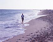 Beach of Santa Maria, Touristic center, Island of Sal Cape Verde