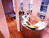 The artist Michele Oka Doner in her loft, Soho, New York City, USA, America