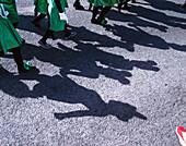 Children celebrate carnival, El Hierro, Canary Islands