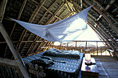 Eco Bungalow for guests, Eco Architecture, Nature Reserve, Chumbe Island, Zanzibar, Tanzania