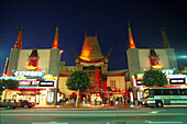 Chinese Theatre, Hollywood, Boulevard, Los Angeles Kalifornien, USA