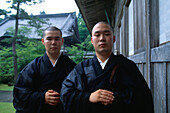 Zen-Mönchschüler, Soji-ji Monzen, Noto Hanto, Japan