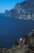 Mountainbiking, Gardasee, Trentino Italien