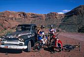 Mountainbiker, Utah, USA Sports