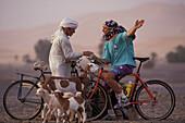 Mountainbike, Randszene, Marrokko