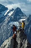 Wandern, Bergsteigen, Dolomiten Italien