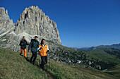 Wanderer-Dolomiten, Suedtirol Italien