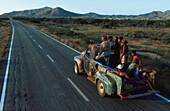 Leute auf Pickup, Isla Margherita Venezuela