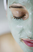 Woman with face mask, Beauty, Wellness, People