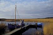 Fishingboat, Nymindegab, Juetland Denmark