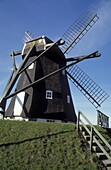 Monastery Windmill, Vestervig, Juetland Denmark