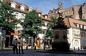 Kornmarkt, Heidelberg, Odenwald, Baden-Wuerttbg., Germany