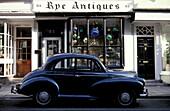 Antiques Shop, Kent, Rye Europe, England