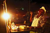 Original Smokey Biggs Jerk Chicken, Negril Jamaika