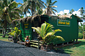 Internet Cafe, Rarotonga Cook Islands
