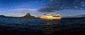 Blue Lagoon Cruises Cruiseship MV Mystique Princess, Yasawa Islands Group, Fiji, South Pacific