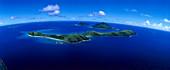 Aerial Photo of Yanuya Island, Mamanuca Islands Group, Fiji, South Pacific
