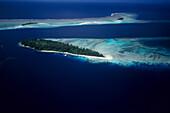 Aerial Photo, Islands in Blackett Strait, Solomon Islands