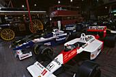 Formula One Cars, National Motor Museum, Beaulieu Hampshire, England